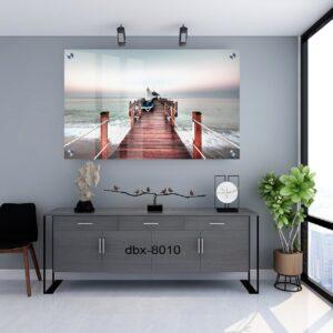 תמונת זכוכית גשר בים
