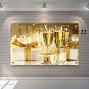 שמפניה בכוס