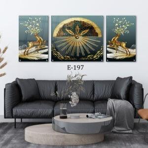 תמונות זכוכית לעיצוב הסלון