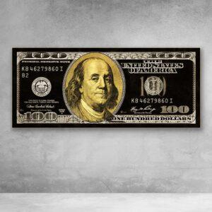 דולר שחור זהב