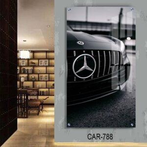 תמונת זכוכית מכונית מרצדס