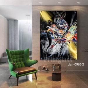 תמונת אבסטרקט לסלון